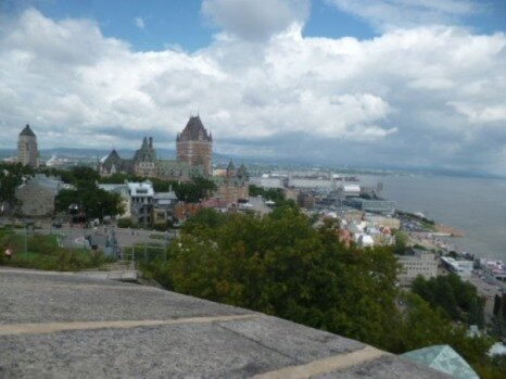 view from the bastion