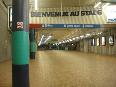 welcome to the stadium of montreal