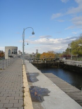 locks of lachine canal