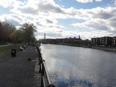 lachine canal afternoon