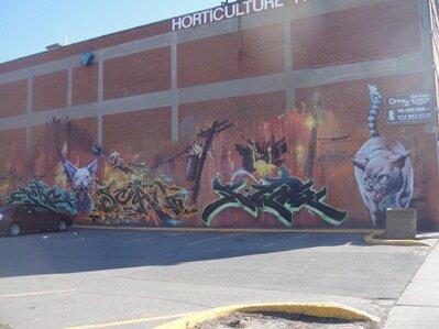 graffiti ontario and delorimier