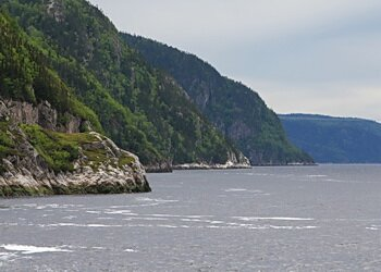 waters of Saguenay and St. Lawrence