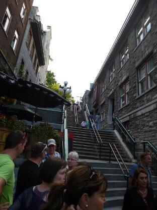 escalier petit champlain