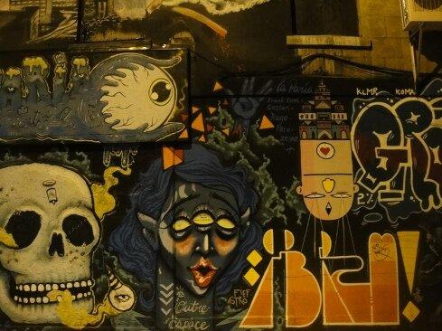 graffiti Photo: © provincequebec.com