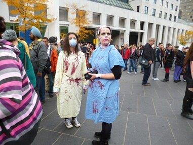zombies infirmières