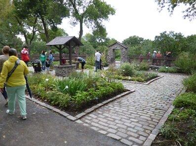 monasterial garden