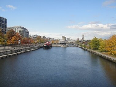 lachine canal entrance