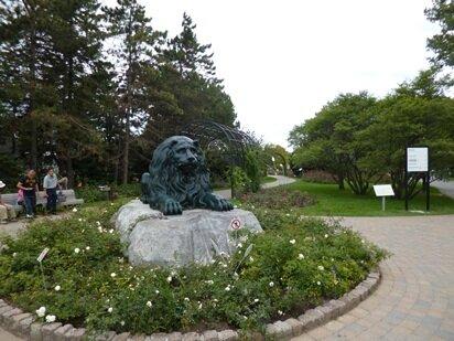 lion jardin botanique