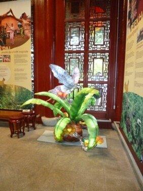 china pavllon flowers