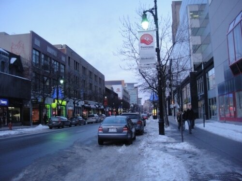 st catherine street montreal