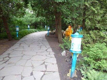 path garden china