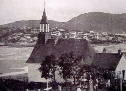 tadoussac chapel in 1901