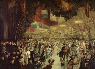 victoria skating rink XIX century