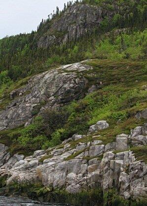walls of the saguenay fjord