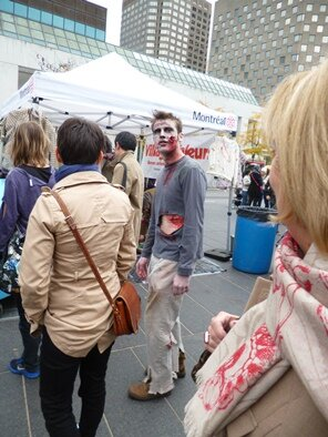 zombie in Montreal